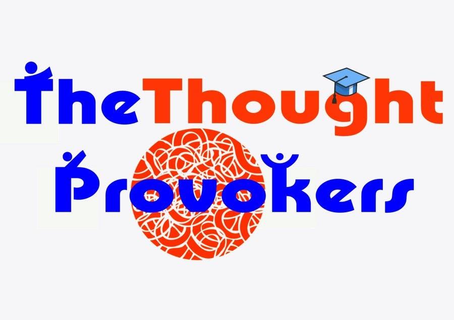 Penyertaan Peraduan #                                        44                                      untuk                                         Logo Design for The Thought Provokers