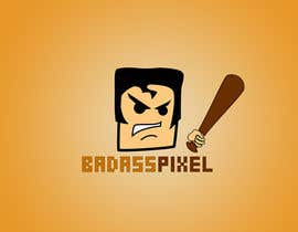 "#42 untuk Design a cartoon Logo for game society ""badasspixel"" oleh dragonarm"