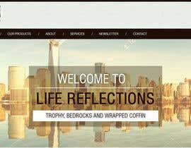 Nro 7 kilpailuun Copy existing website content and improvde design / replace logo käyttäjältä rajeev2005