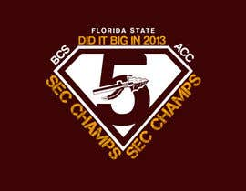nº 22 pour Design a T-Shirt for FSU BCS Champs par MonsterGraphics
