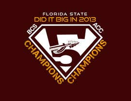 #23 for Design a T-Shirt for FSU BCS Champs by MonsterGraphics