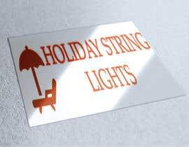 iteraf7 tarafından Logo for website called 'holiday string lights' için no 25