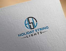 farzana1994 tarafından Logo for website called 'holiday string lights' için no 21