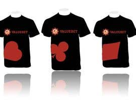 #58 for Design a T-Shirt for an online poker related website af MartinMaxTech