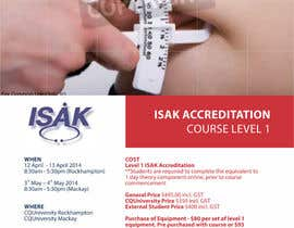 #4 para Design a Brochure for an Level 1 ISAK course the will be used as a PDF brochure only por barinix