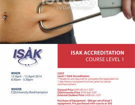 #11 para Design a Brochure for an Level 1 ISAK course the will be used as a PDF brochure only por barinix