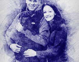 #22 for Make a portrait out of a picture (example attached) by npinkyn