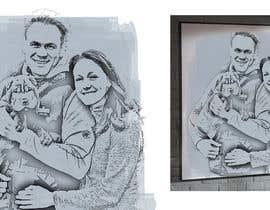shinodem123 tarafından Make a portrait out of a picture (example attached) için no 13