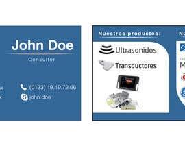 Nro 1 kilpailuun Diseñar tarjeta de presentación para empresa de venta de equipo médico käyttäjältä APDB