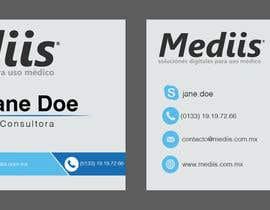 APDB tarafından Diseñar tarjeta de presentación para empresa de venta de equipo médico için no 4