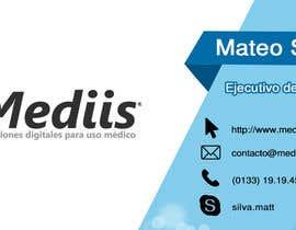 Nro 6 kilpailuun Diseñar tarjeta de presentación para empresa de venta de equipo médico käyttäjältä gabbme