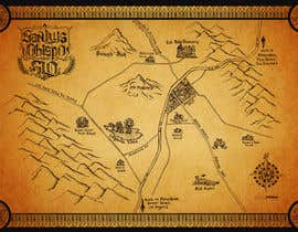 #15 for Make a fantasy map for my book by kcjneththie