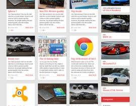 Nro 10 kilpailuun Best Homepage Designer - 15th project. käyttäjältä maniapp92