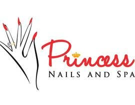 vishnuremesh tarafından Design a Logo for Princess Nails and Spa için no 55