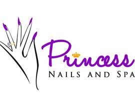 #56 cho Design a Logo for Princess Nails and Spa bởi vishnuremesh