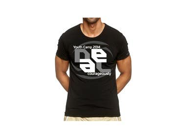"#134 untuk Design a T-Shirt with the slogan ""Deal Courageously"" oleh eltorozzz"