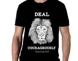 "#93 para Design a T-Shirt with the slogan ""Deal Courageously"" por riki05"