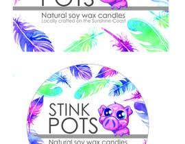 Nro 6 kilpailuun Design a Logo for STINK POTS käyttäjältä AdelHorn
