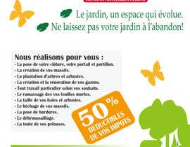 #15 for Flyer pour paysagiste by fetra08