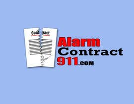 #124 for Design a Logo for Alarm Contract 911 by kaziahmed91