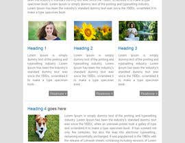 #43 для Photoshop Design for a dummy newsletter от cnskanth
