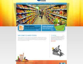 #21 cho Design a Website Mockup for a Wholesale food distributor bởi ANALYSTEYE