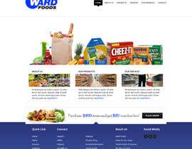 #19 cho Design a Website Mockup for a Wholesale food distributor bởi Pavithranmm