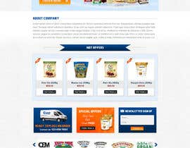 #20 para Design a Website Mockup for a Wholesale food distributor por atularora