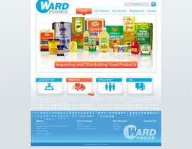 #2 cho Design a Website Mockup for a Wholesale food distributor bởi nole1
