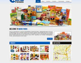 #6 para Design a Website Mockup for a Wholesale food distributor por ghazitech