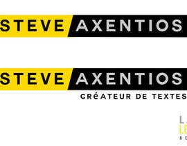 #37 for Create a logo for Steve Axentios by lemon27