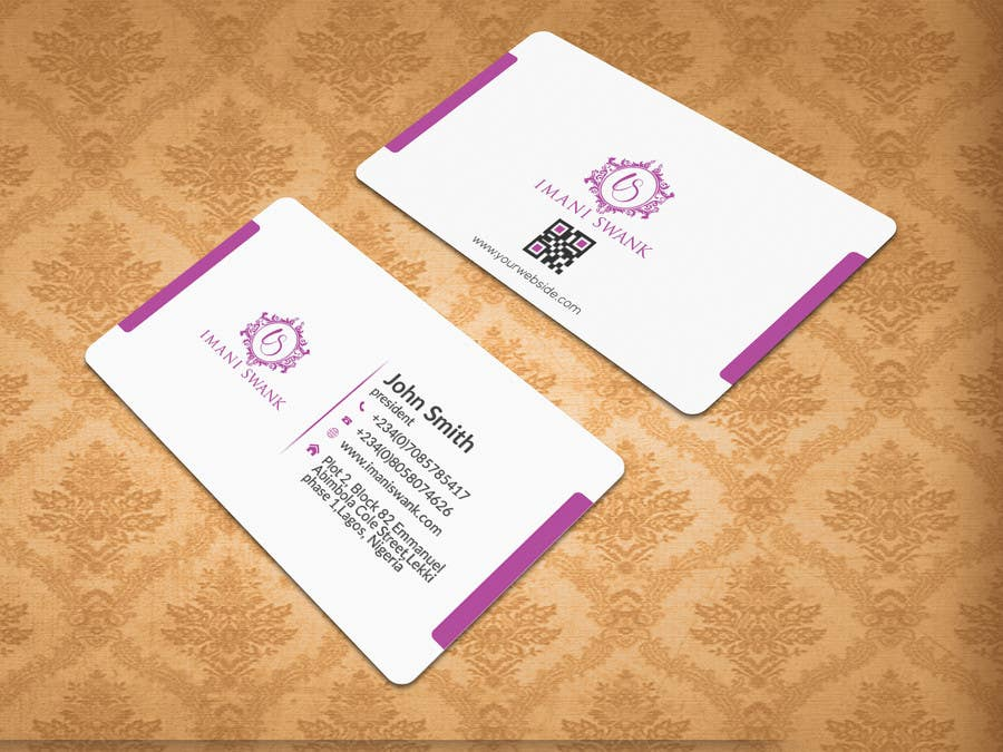 Entry 8 by tvds for business card for a bridal store freelancer contest entry 8 for business card for a bridal store reheart Images