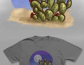 Nro 12 kilpailuun Cactus Redesign For T-shirt Print käyttäjältä AidaRamirez