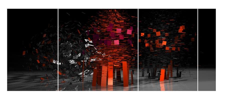 Inscrição nº 18 do Concurso para Looking for an awesome abstract contemporary digital design