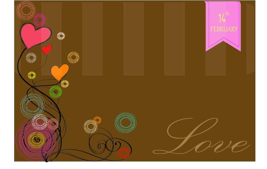 Bài tham dự cuộc thi #12 cho Illustrate background for Valentine