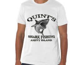 Nro 31 kilpailuun Design a Shark Fishing T-Shirt käyttäjältä Exer1976