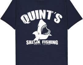 Nro 28 kilpailuun Design a Shark Fishing T-Shirt käyttäjältä jahidjoy22