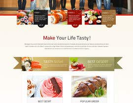 #74 cho Design a Website Mockup for a Restaurant bởi jai07