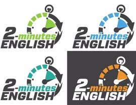 nº 88 pour Design a Logo for 2 minute English par izzrayyannafiz