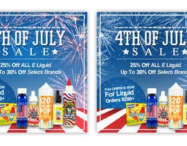 #6 for Email Marketing Banner For July 4th (US Holiday) by ClaudiuTrusca