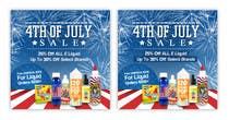 Graphic Design Kilpailutyö #7 kilpailuun Email Marketing Banner For July 4th (US Holiday)
