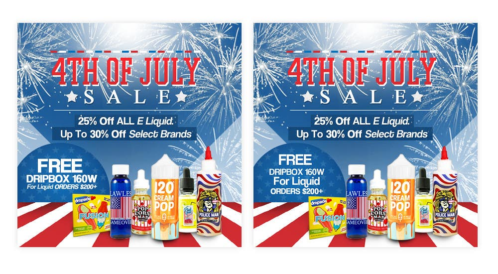 Kilpailutyö #21 kilpailussa Email Marketing Banner For July 4th (US Holiday)