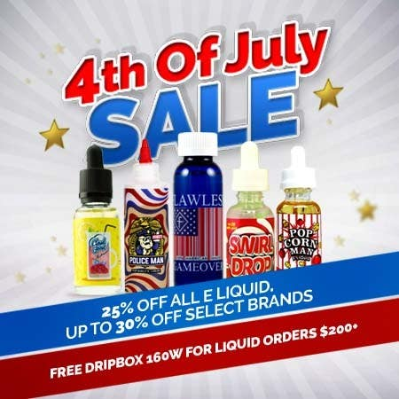Kilpailutyö #2 kilpailussa Email Marketing Banner For July 4th (US Holiday)