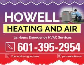 Hammadbhatty tarafından Corel draw Design -  Yard Sign for HVAC company için no 4
