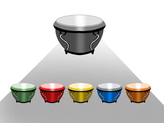Bài tham dự cuộc thi #35 cho Draw the bongô / Conga contest! - repost