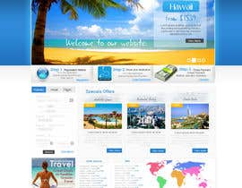 #36 para Website Design for Hotels and Resorts por Balnazzar