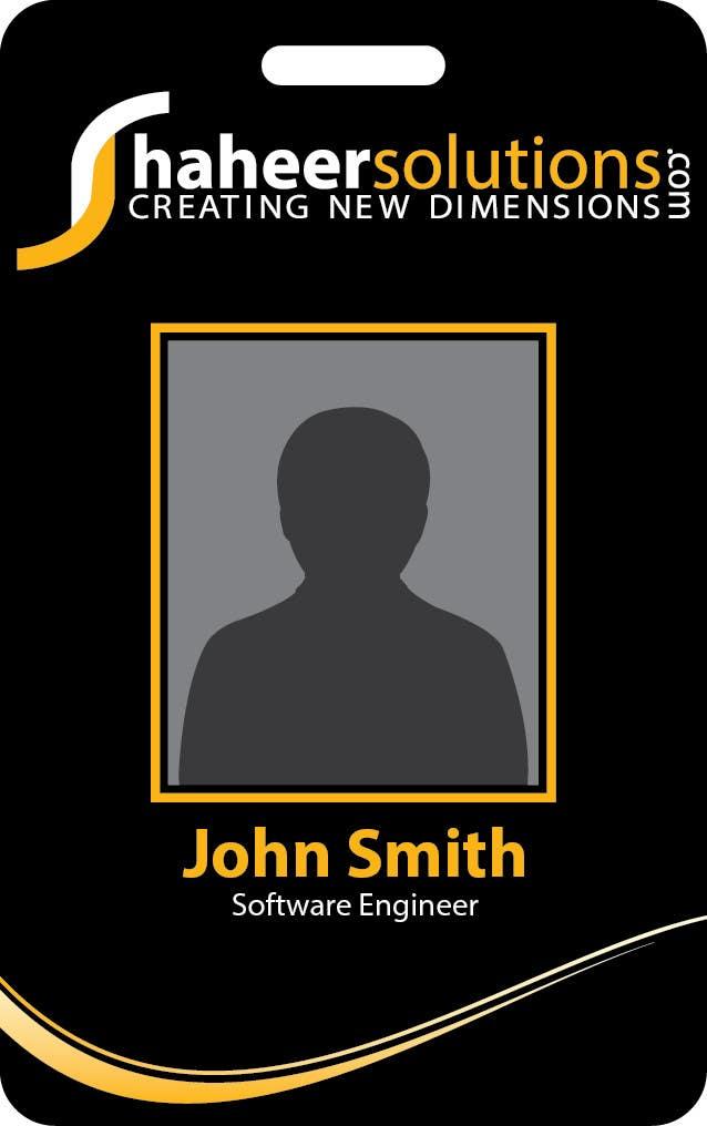 Kilpailutyö #24 kilpailussa Employee Identity card design.