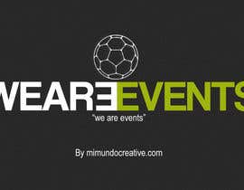 #8 for WE ARE EVENTS af mimundocreative