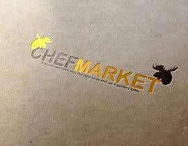 #46 for Design a logo for CHEFMARKET in Sweden by ultimated