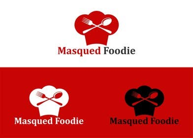#37 for Design a Logo for Masqued Foodie by eltorozzz